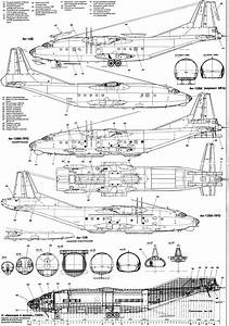 Antonov An-12 Blueprint