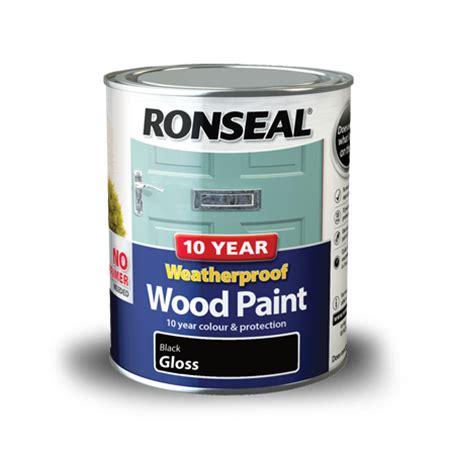 year weatherproof wood paint ronseal
