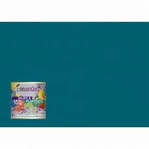 Bleu Paon Dulux : peinture bleu paon ~ Nature-et-papiers.com Idées de Décoration
