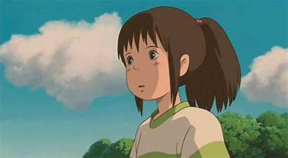 Chihiro Away Spirited Ghibli Studio Gifs Miyazaki