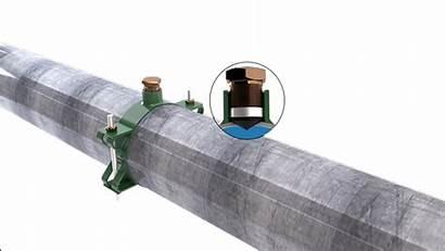 Hole Leak Clamp Repair Pipe Rapid