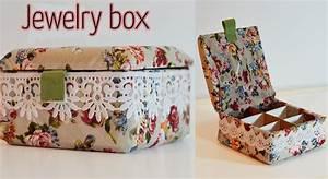 DIY Craft : Jewelry box - Ana DIY Crafts - YouTube