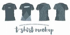 Tshirt mockup vector