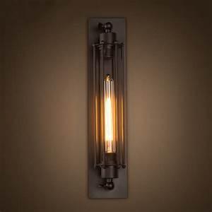 Loft Vintage Wall Lamps Indoor Lighting American