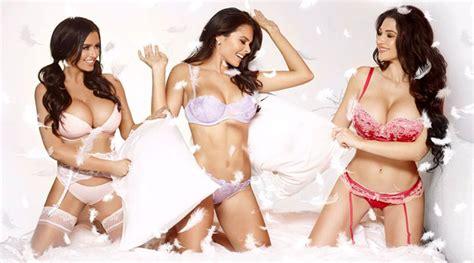 smile pillows sexy calendar features favorite instagram models