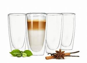 Latte Macchiato Löffel : 4 doppelwandige latte macchiato gl ser 300ml mit 4 ~ A.2002-acura-tl-radio.info Haus und Dekorationen