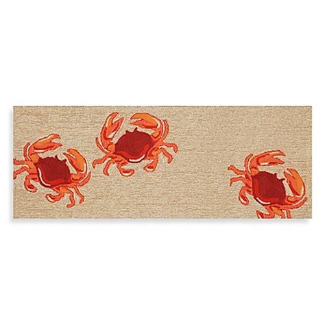 72 inch doormat buy 27 inch x 72 inch front porch crab door mat from bed