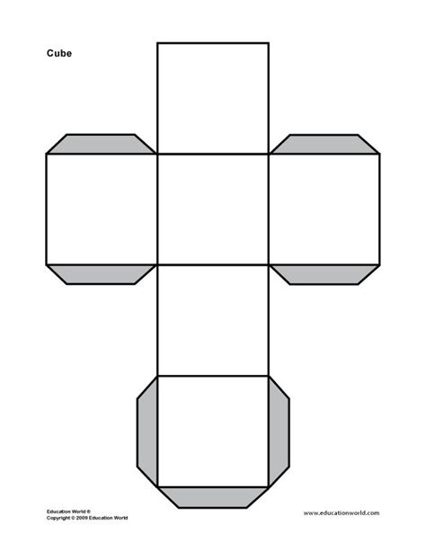 design a cube story of the world printables education world