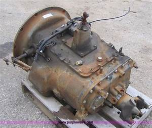 Eaton Fuller Road Ranger 10 Speed Transmission In Spring