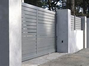 Portail Coulissant 2 Vantaux : fabricant portail lyon 69 rh ne automatisme portail ~ Edinachiropracticcenter.com Idées de Décoration