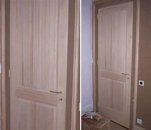 Porte En Bois Intérieur : porte interieur bois exotique ~ Preciouscoupons.com Idées de Décoration