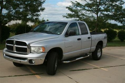 Find Used 2005 Dodge Ram 1500 Quad St/slt 4x4