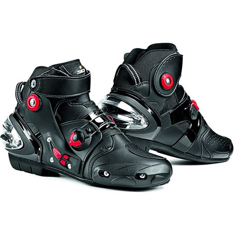 sport motorcycle shoes sidi streetburner motorcycle boots short ankle street