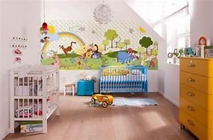 Tapete Babyzimmer Mädchen : babyzimmer tapete junge ~ Frokenaadalensverden.com Haus und Dekorationen