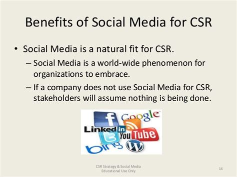 Benefits Of Social Media For