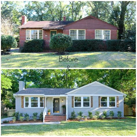 The first time some people were standing outside the home, and i thought i would totally. Cost To Paint A Brick House In Hendersonville / Asheville NC — House Painting Service Western NC ...