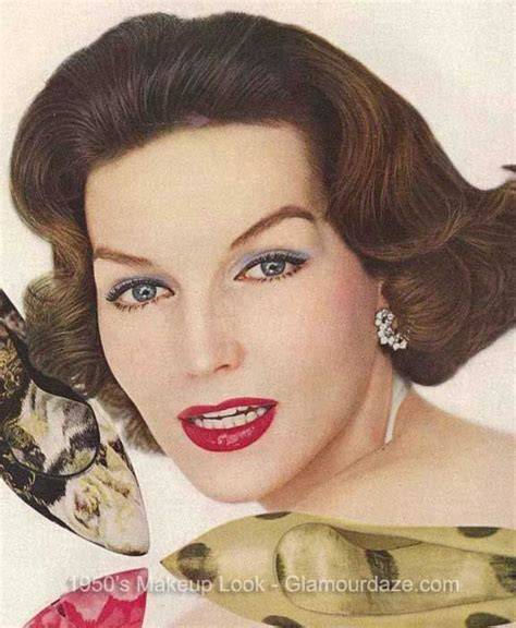 style hair 1950s makeup and hairstyles 1950s makeup hairstyles 8932