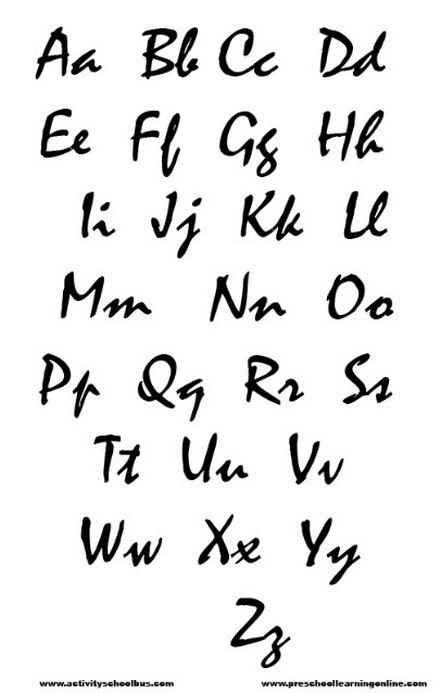 printable font stencils google search printable font