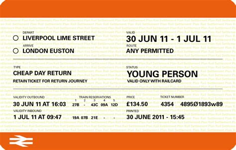 The Journey To A New Train Ticket  The Work Of Neil Martin