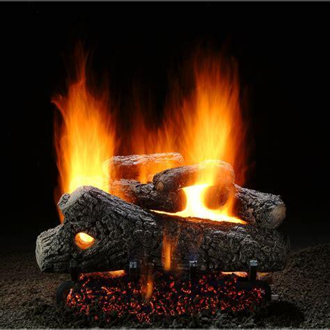 hargrove gas logs pilot light hargrove 18 inch classic oak vented natural gas log set