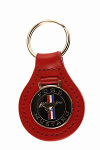 Ford Mustang - classic badge keyring