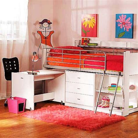 kids loft bed and desk 20 loft beds with desks to save kid s room space kidsomania