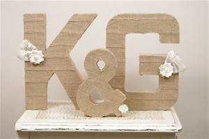 burlap wrapped letters how to win yours emmaline bridetm With burlap wrapped letters