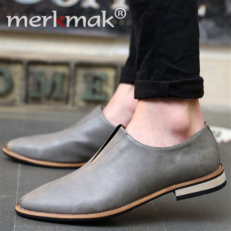 Aliexpress Buy New Men Shoes Leather Top Brand