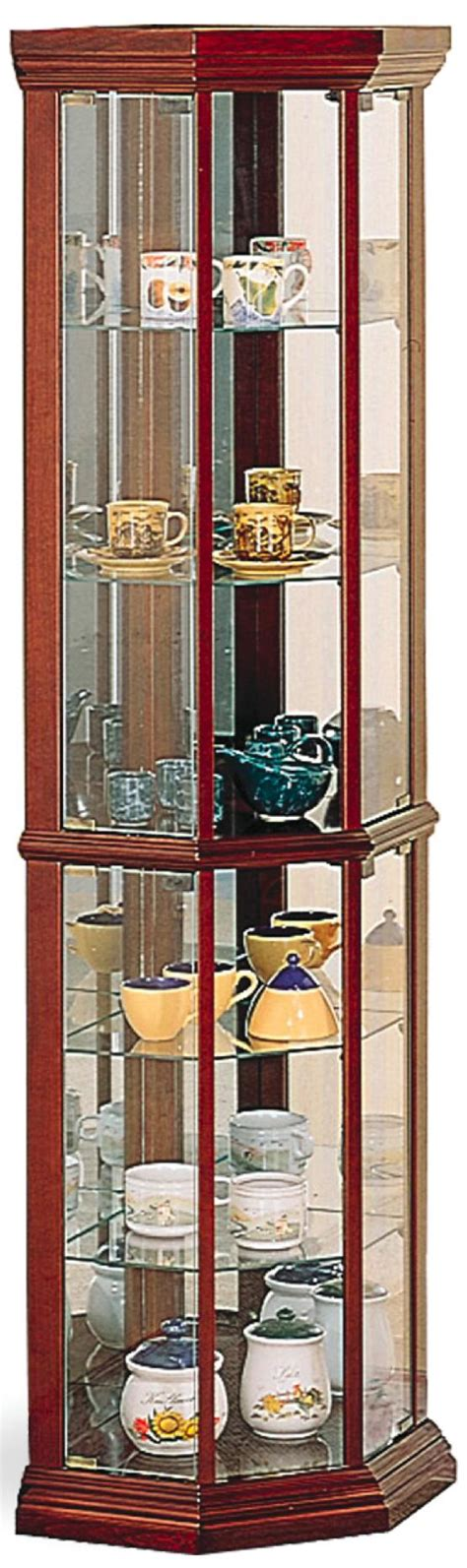 coaster curio cabinet assembly coaster curio cabinets solid wood cherry glass corner