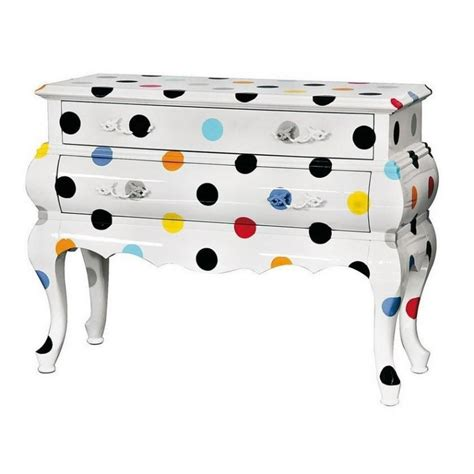 Commode Seletti by Commode Trip Pois 2 Tiroirs Home Yacht Design