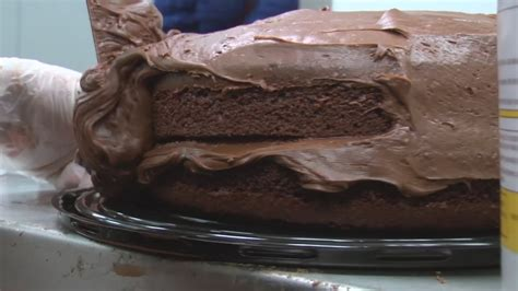 portillos offering heart shaped chocolate cake  mother