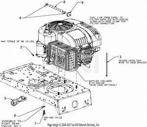 Mtd 13b2775s000  2017  Parts Diagram For Engine Accessories