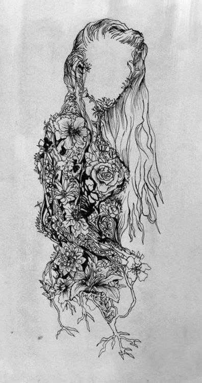 Sketches Hippie Chick Sketch Art Pinterest