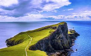 Neist Point Lighthouse, isle of Skye, Scotland by