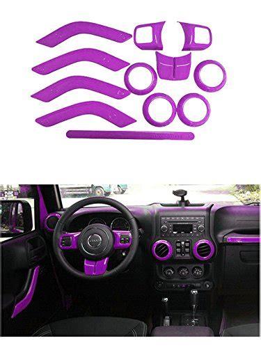 purple jeep interior opall full set purple interior decoration trim kit for