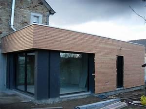 bardage de maison pavillons en ossature bois bardage bois With google vue des maisons 6 maison contemporaine avec bardage en bois noir