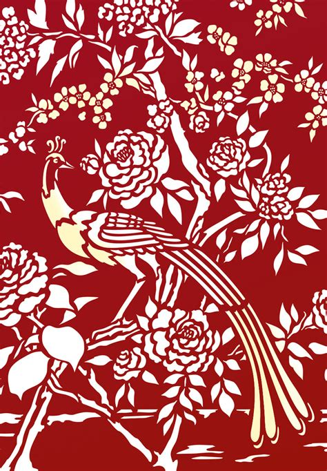 chinoiserie stencil  henny donovan motif