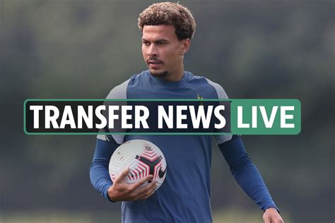 LIVE Signing News: Dele Alli 'opens talks with PSG', Real ...