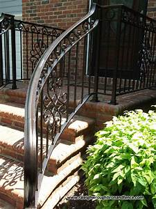 Custom, Wrought, Iron, Residential, Railings, Raleigh, Wrought, Iron, Co