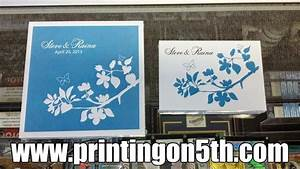 wedding invitations from a san diego printing company With wedding invitation printing san diego