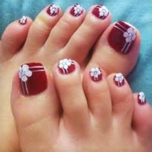 Cute foot nails nail art designs picture