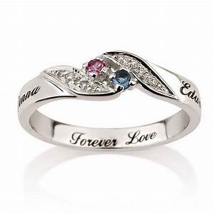 The uniqueness of personalized promise rings wedding for Personalized wedding rings