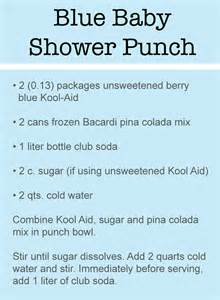 Punch Recipes Baby Shower Gallery
