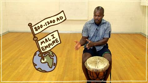 fiveish minute drum lesson african drumming lesson