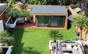 Modern Garden Studio built in Central London Garden Lodges