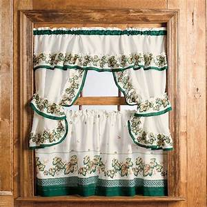 Nice ideas for kitchen curtains curtain menzilperdenet for Simple curtain patterns