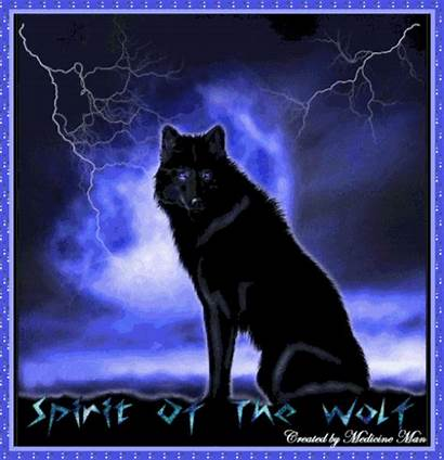 Wolf Spirit Gifs Lobos Nuit Bonne Wolves