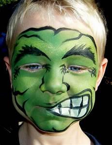 Maquillage Halloween Garcon : maquillage halloween 48 photos et instructions faciles ~ Melissatoandfro.com Idées de Décoration
