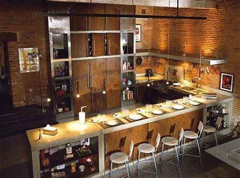cuisine maison ancienne une ancienne maison en pierres avec un intérieur moderne