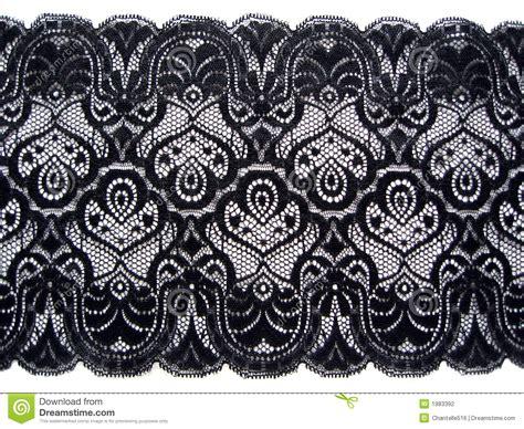 white arabesque black lace stock photography image 1983392